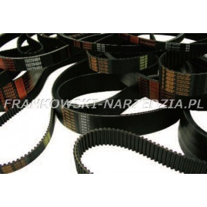 Pasek napędowy 3M-327-12, HTD 327-3M-12 lub 327RPP3 , Szer.-12mm, L-327mm, Z-109