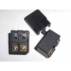 Wyłącznik szlifierki HLT-125B, FA7-6/2-A1, 6A, kostka, wciśnięty-wyłączony