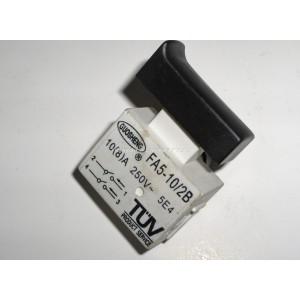 Wyłącznik szlifierki FA5-10/2B , 10(8)A 250V, klawisz 15x36mm
