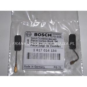 Szczotki węglowe 5x8x19 (1kpl) linka nasuwka mała, oryginalne Bosch, do GBH 2-24, indeks- 1617014134