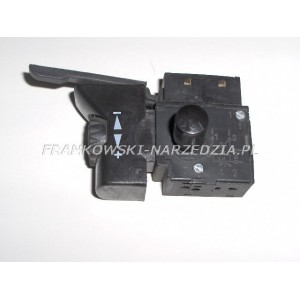 Wyłącznik wiertarki FA2-6/1BEK, 6A, klawisz 19x38mm