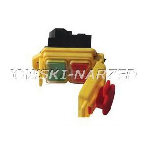 Wyłącznik zanikonapięciowy 4-styki, DKLD DZ-6, klapka STOP, 16A za KJD, W-300